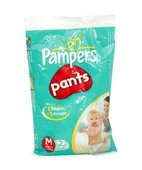 PAMPERS EASY UP PANTS MEDUIM 2S