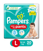 PAMPERS PANTS MEDIUM 20S