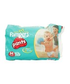 PAMPERS PANT DIAPERS M 9S