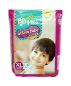 PAMPERS ACTIVE BABY DIAPERS XL 16S