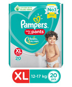 PAMPERS PANT DIAPERS XL 20S