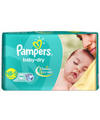 PAMPERS DIAPERS S 46S