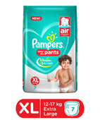 PAMPERS PANTS XL 7S