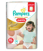 PAMPERS PREMIUM CARE PANTS XL 16S