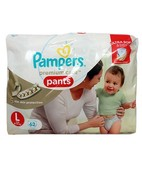 PAMPERS PREMIUM CARE PANTS L 62S