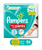 PAMPERS PANTS NEW BABY 86S