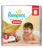 PAMPERS PREMIUM CARE PANTS S 24S
