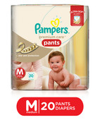 PAMPERS PREMIUM CARE PANTS M 20S