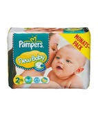 PAMPERS NEW BABY 2S