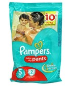 PAMPERS PANTS S 2S