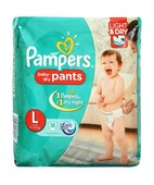 PAMPERS PANTS L 18S