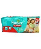 PAMPERS PANTS M 40S