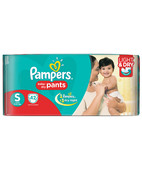 PAMPERS PANTS S 42S