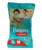 PAMPERS PANTS L 4S