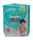 PAMPERS PANTS XL 2S PK OF 6S