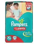 PAMPER PANTS XL 60S