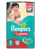 PAMPER PANTS S 60S