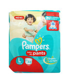 Pampers Pants L 32S