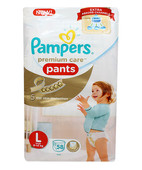 Pampers Premium Care Pants L 58 S