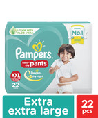 PAMPERS PANTS XXL 22S