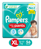 PAMPERS PANTS XL 56S
