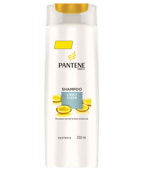 PANTENE LIVELY CLEAN SHAMPOO 180 ML