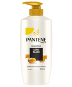 PANTENE LONG BLACK SHAMPOO 675ML