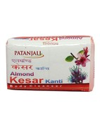 PATANJALI ALMOND KESAR KANTI BODY CLEANSER 75GM