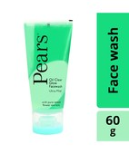 PEARS OIL CLEAR GLOW FACE WASH ULTRA MILD 60GM