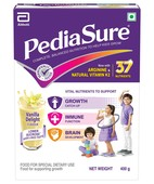 PEDIASURE VANILLA DELIGHT BIB POWDER 400GM