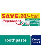 PEPSODENT EXPERT PROTECTION GUMCARE PASTE 2X140 280GM