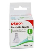 PIGEON PERISTALTIC NIPPLE -LARGE