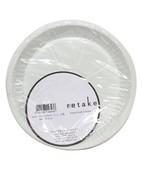 PLASTIC PLATE 10CM 25S
