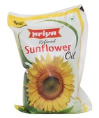 PRIYA REFINED SUNFLOWER OIL 1LTR
