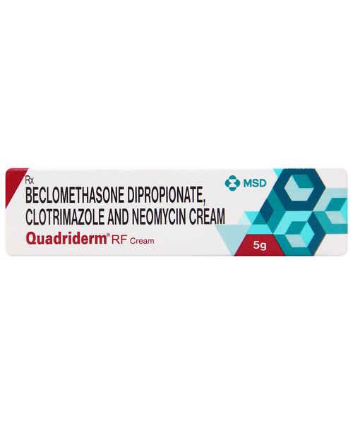 QUADRIDERM RF 5GM CREAM