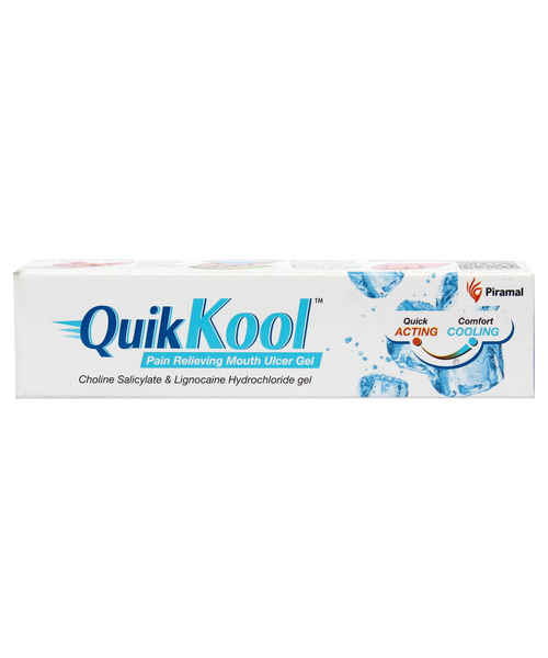 QUIK KOOL MOUTH ULCER 10GM GEL