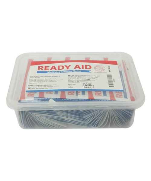 READY AID MEDICATED PLASTER 100S