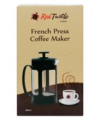 RED TURTLE FRENCH PRESS COFFEE MAKER