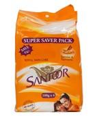 SANTOOR SANDAL & TURMERIC SOAP 4X100GM
