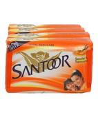 SANTOOR SANDAL & TURMERIC SOAP 4X75GM