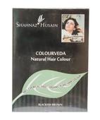 SHAHNAZ HUSAIN COLOURVEDA NATURAL HAIR COLOUR BLACKISH BROWN 100 GM