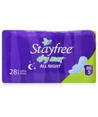 STAYFREE ULTRA THIN DRY MAX ALL NIGHT 28S