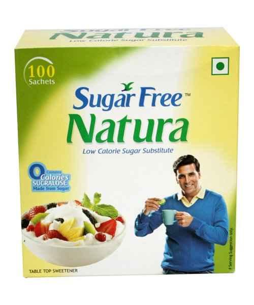 SUGAR FREE 100 SACHETS NATURA