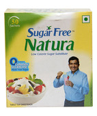 SUGAR FREE NATURA 50X1GM POWDER