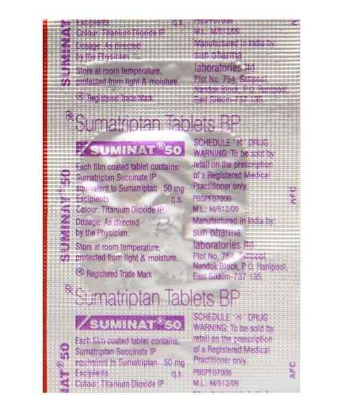 Suminat 25 mg ibuprofen