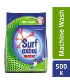 SURF EXCEL MATIC DETERGENT POWDER TOP LOAD 500GM