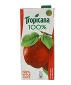 TROPICANA 100% APPLE JUICE 1L
