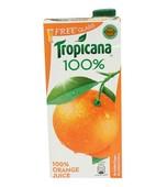 TROPICANA 100% ORANGE JUICE 1LTR