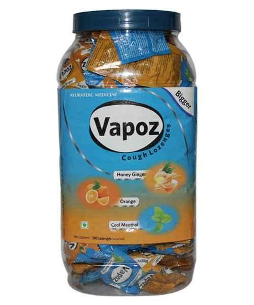 VAPOZ COUGH DROPS JAR 300S