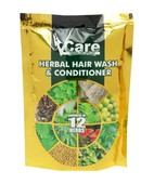 VCARE HERBAL HAIR WASH AND CONDITIONER POWDER 100GM